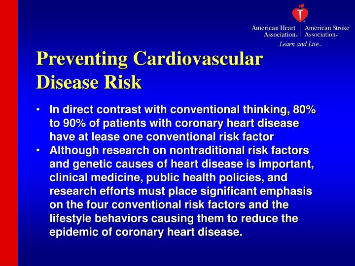 Preventing Cardiovascular Disease Risk