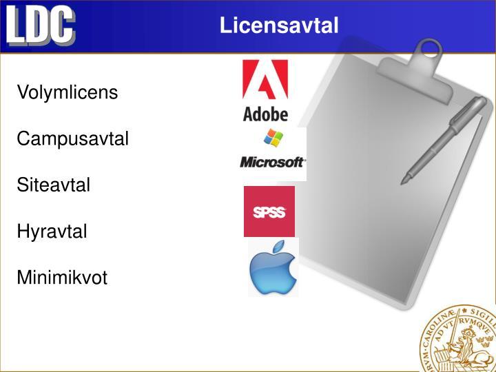 Licensavtal