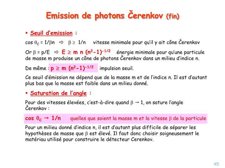 Emission de photons
