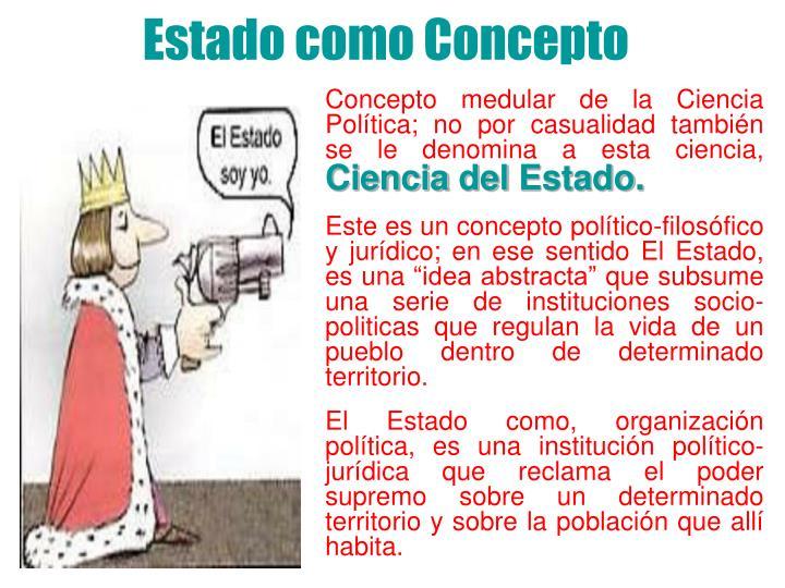 Estado como Concepto
