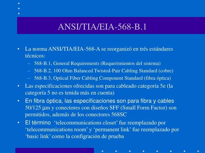 ANSI/TIA/EIA-568-B.1