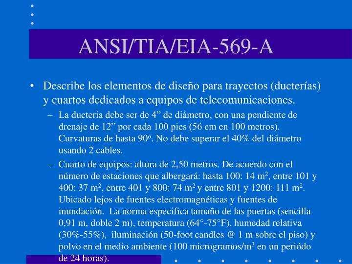 ANSI/TIA/EIA-569-A
