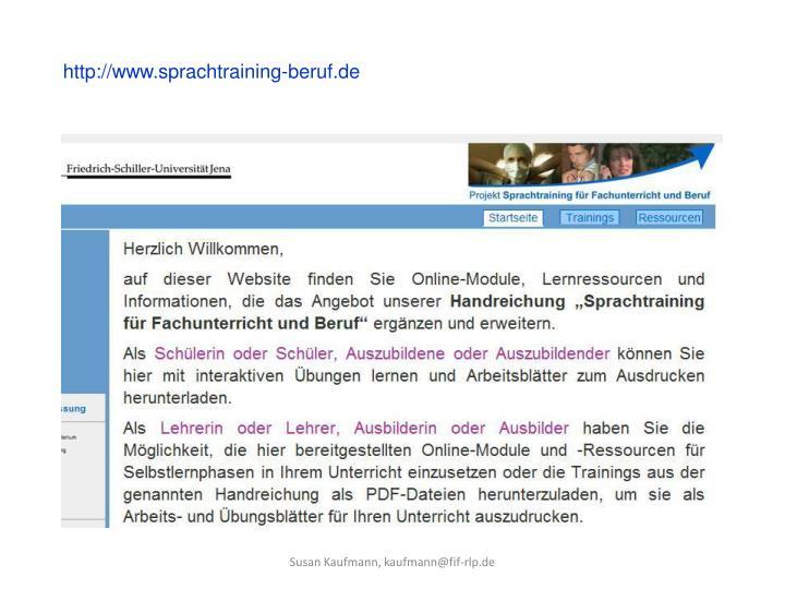 http://www.sprachtraining-beruf.de