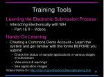 training tools1