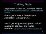 training tools3