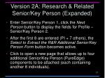 version 2a research related senior key person expanded