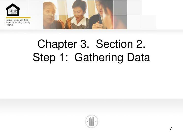 Chapter 3.  Section 2.