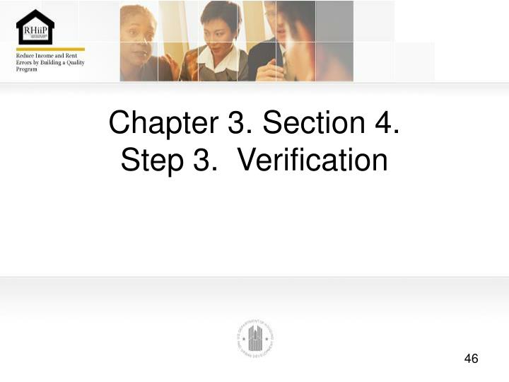 Chapter 3. Section 4.