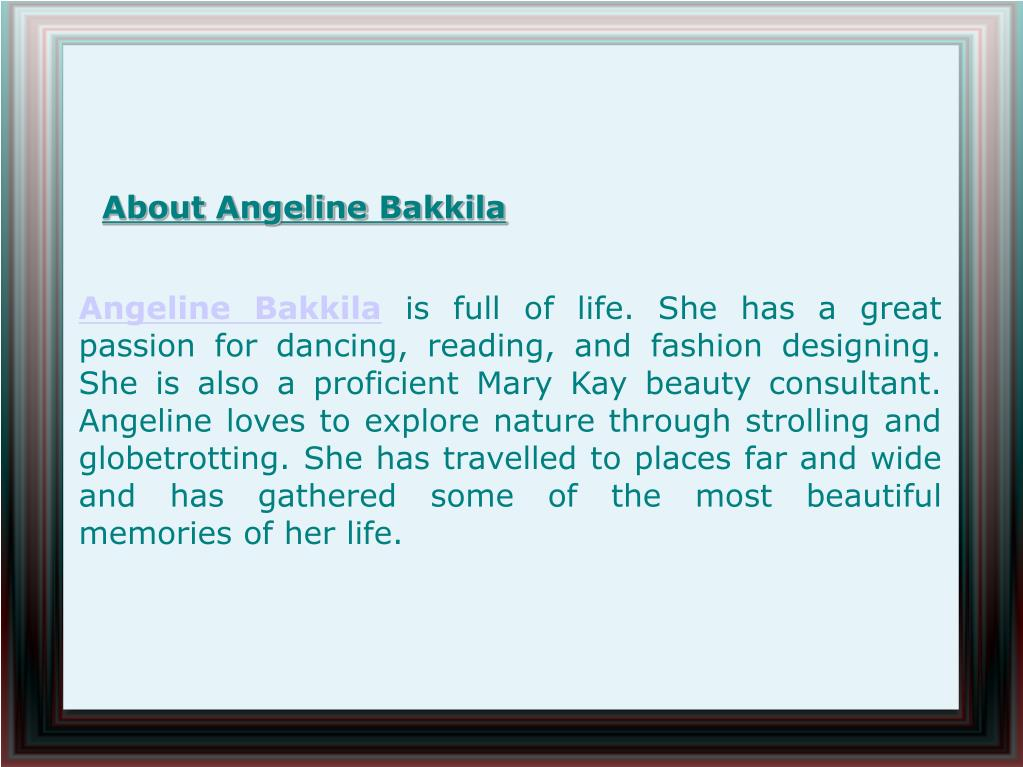 About Angeline Bakkila