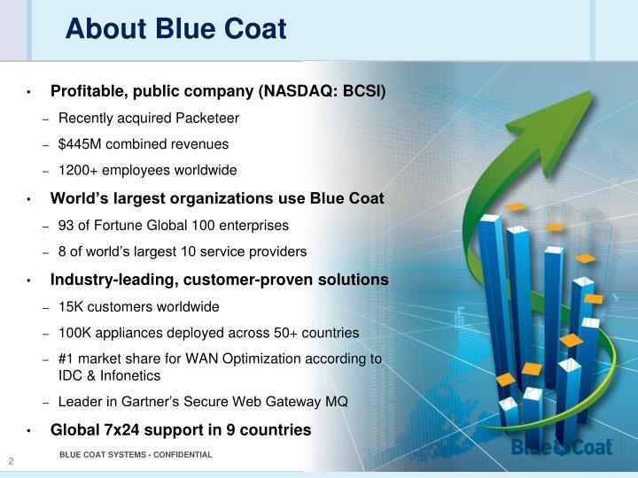 About Blue Coat