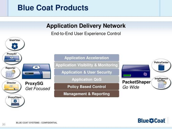 Blue Coat Products