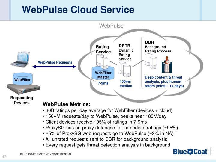 WebPulse Cloud Service