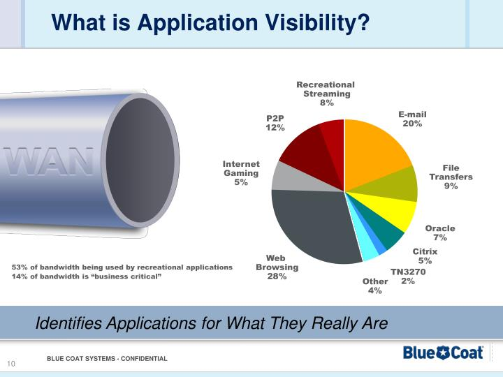 What is Application Visibility?