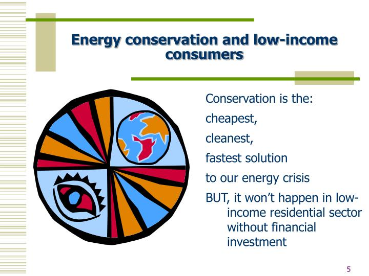 Energy conservation and low-income consumers