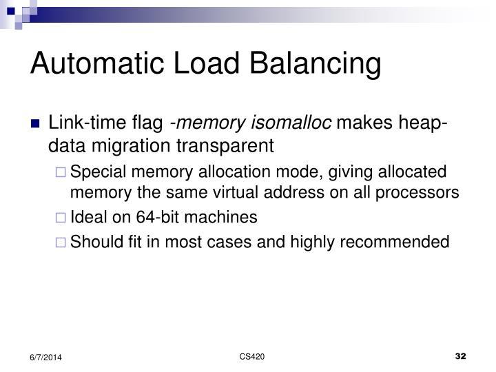 Automatic Load Balancing
