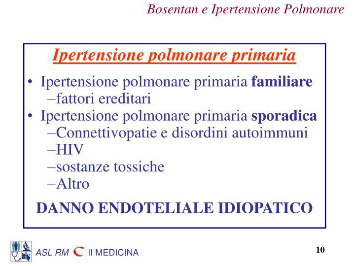 Ipertensione polmonare primaria