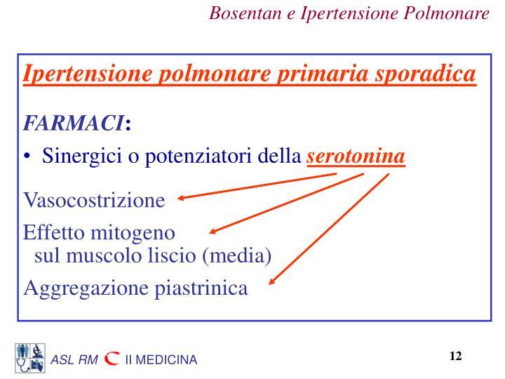 Ipertensione polmonare primaria sporadica