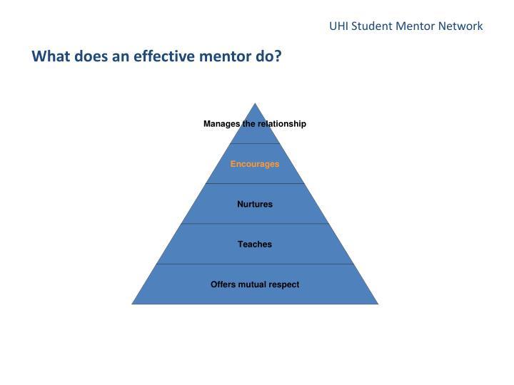 UHI Student Mentor Network