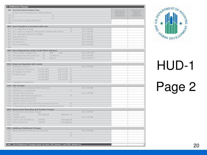 HUD-1