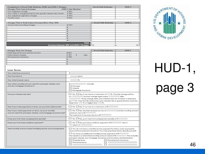 HUD-1,