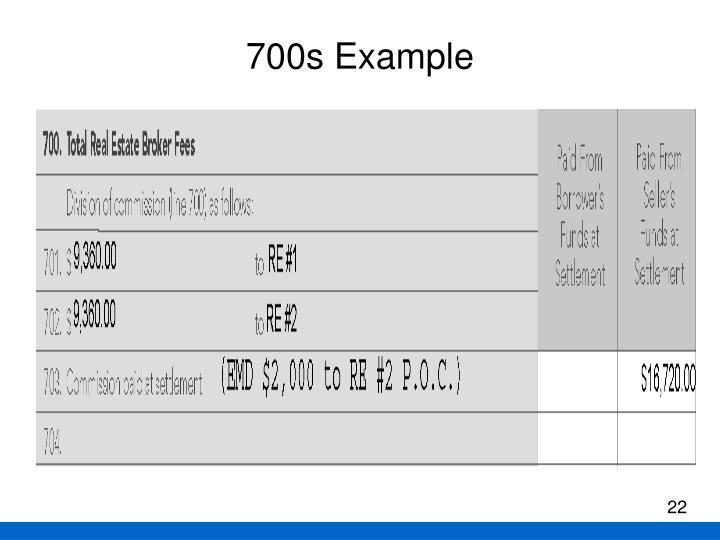 700s Example