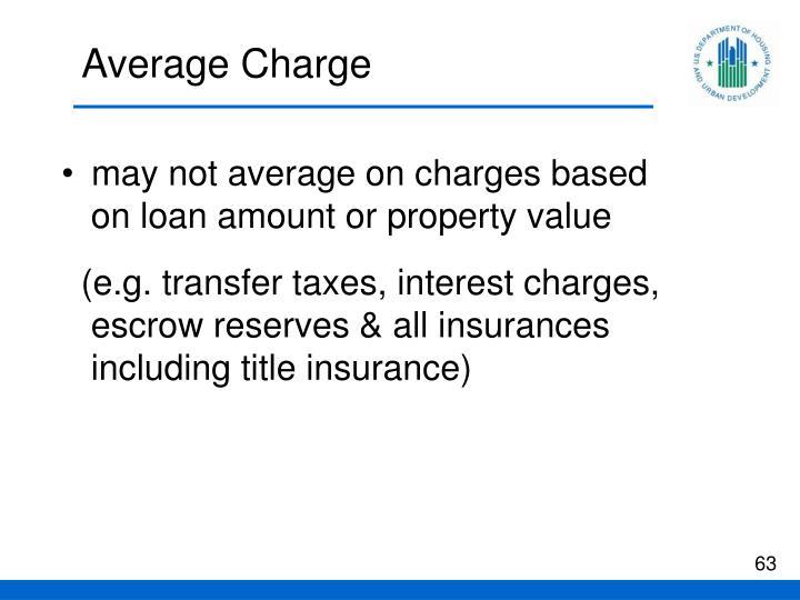 Average Charge