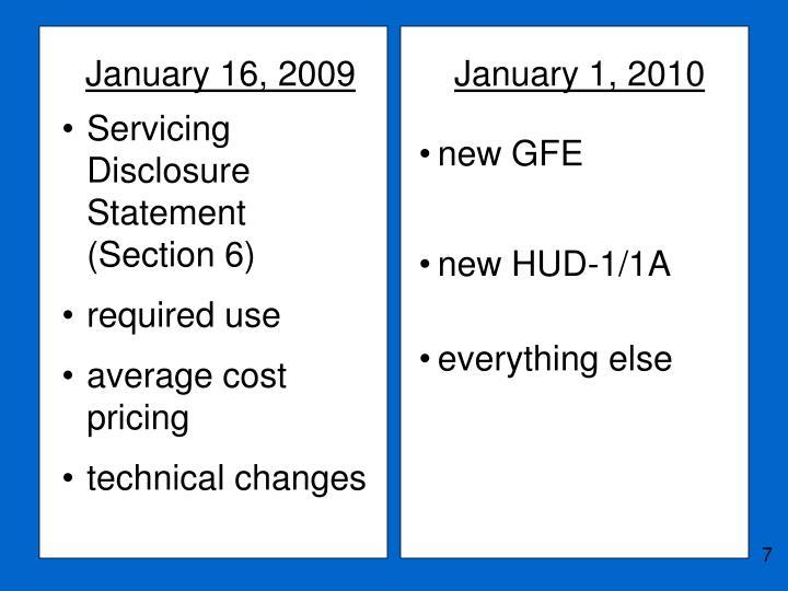 January 16, 2009