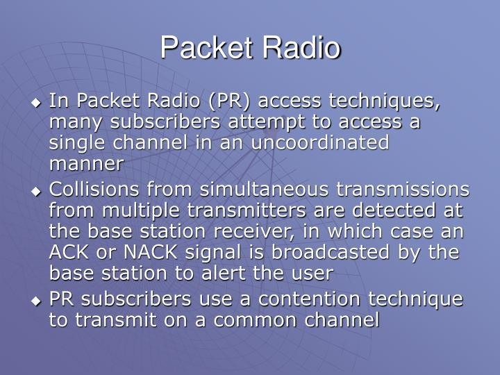 Packet Radio