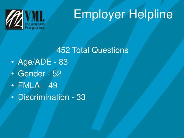 452 Total Questions