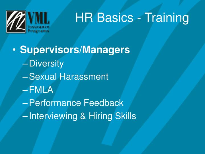 Supervisors/Managers