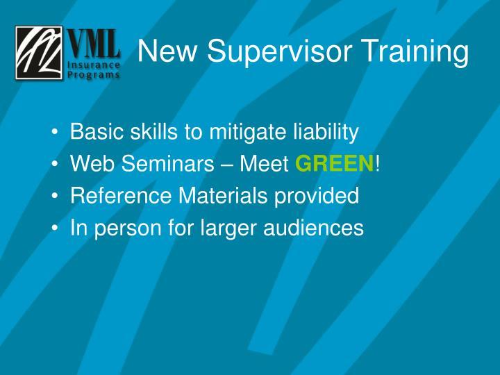 Basic skills to mitigate liability