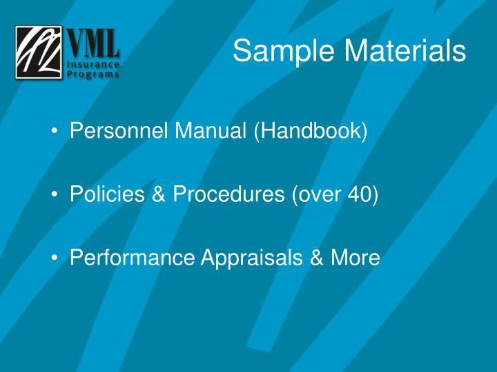 Personnel Manual (Handbook)