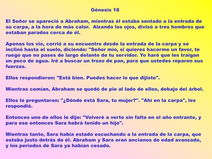 Génesis 18