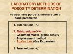 laboratory methods of porosity determination5