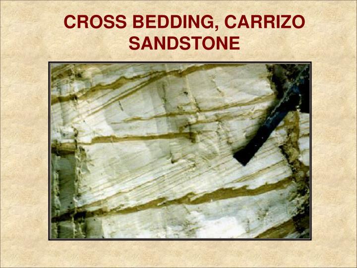 CROSS BEDDING, CARRIZO SANDSTONE
