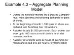 example 4 3 aggregate planning model