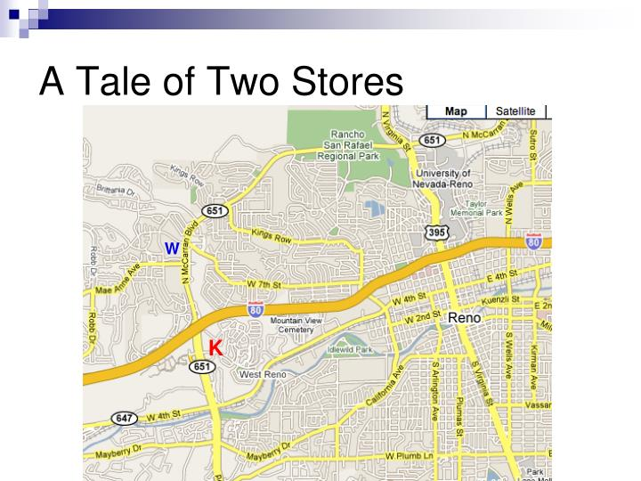 A Tale of Two Stores