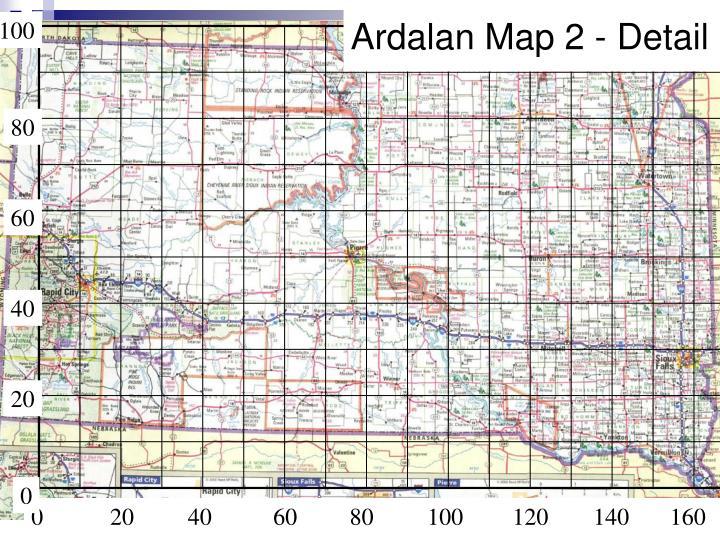 Ardalan Map 2 - Detail