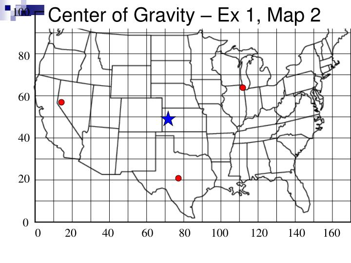 Center of Gravity – Ex 1, Map 2