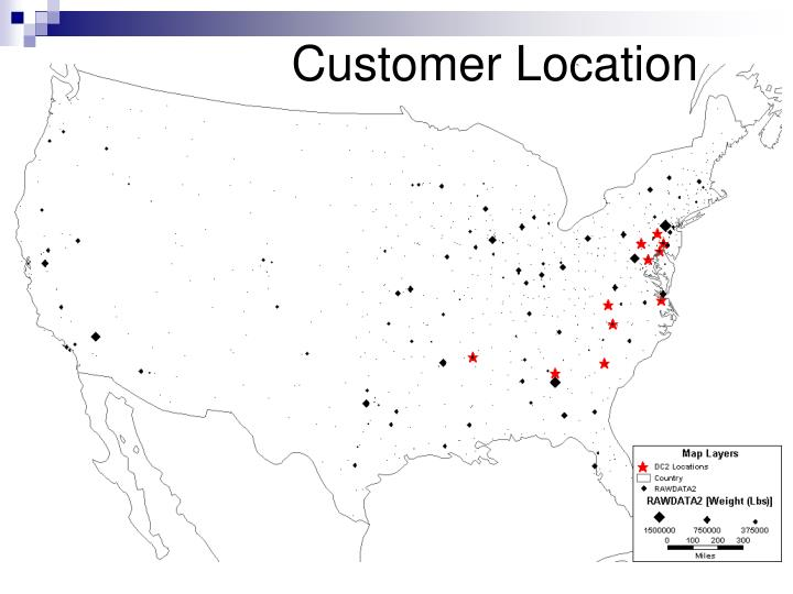 Customer Location