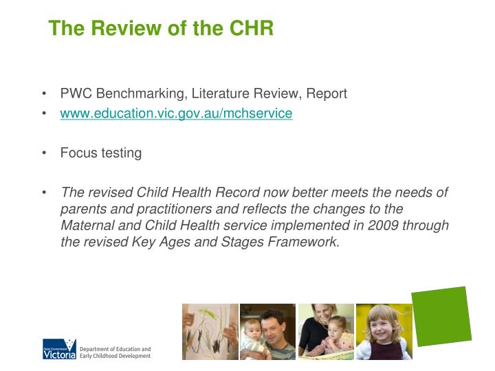 The review of the chr