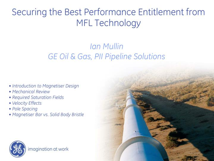securing the best performance entitlement from mfl technology