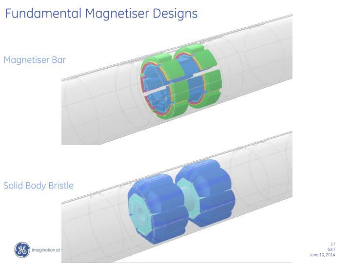 Fundamental Magnetiser Designs