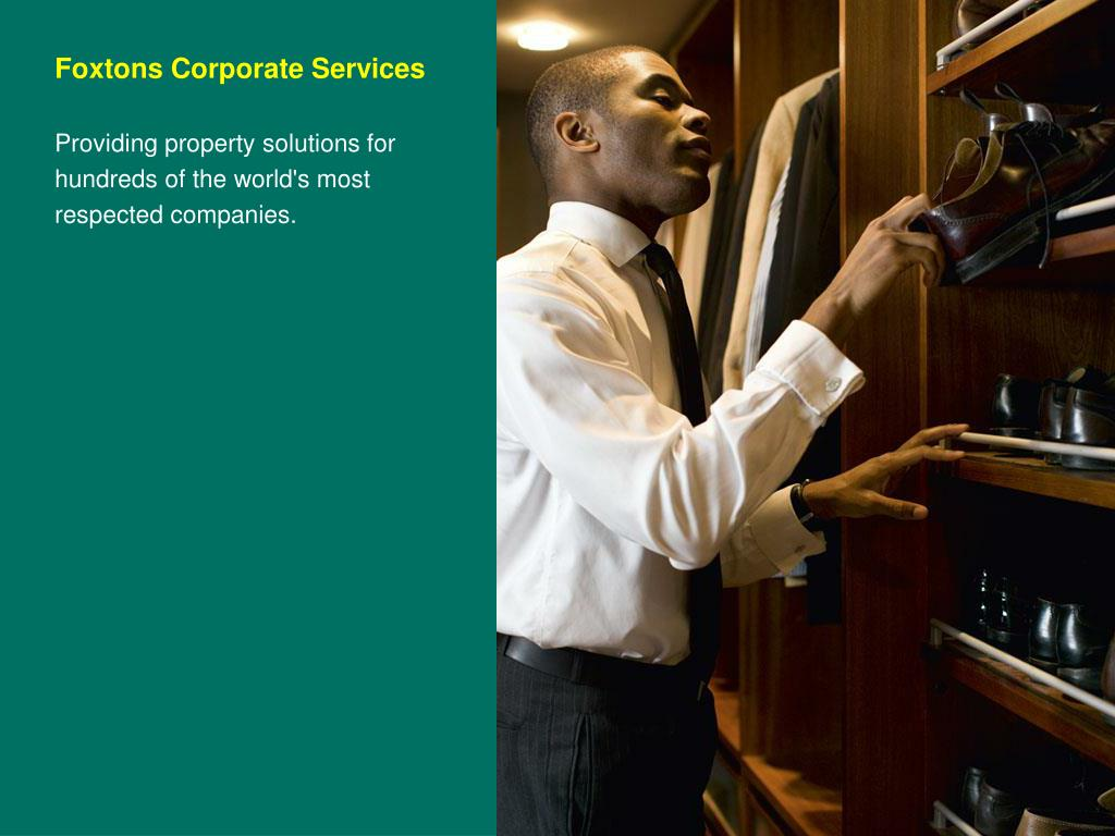 Foxtons Corporate Services