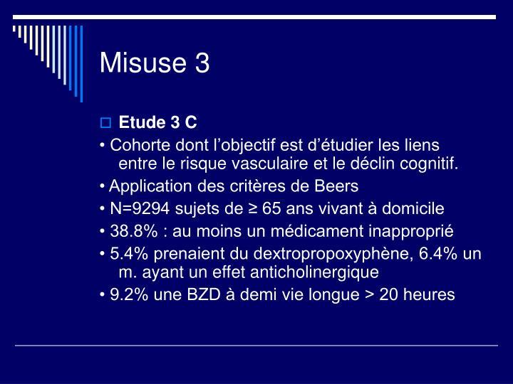 Misuse 3