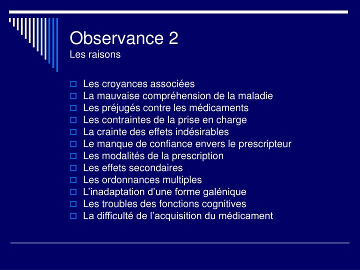 Observance 2