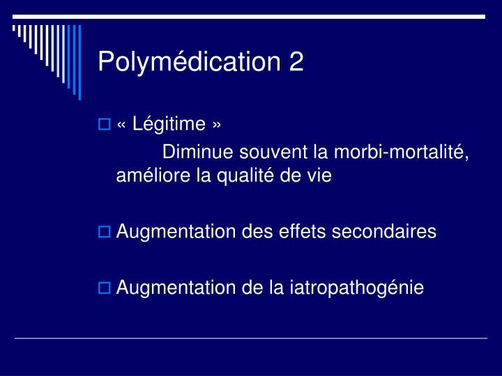 Polymédication 2