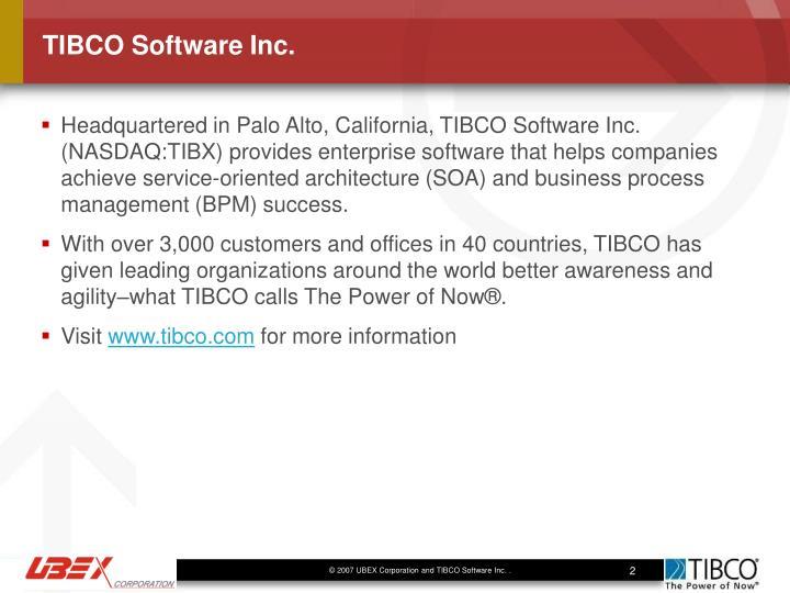 TIBCO Software Inc.
