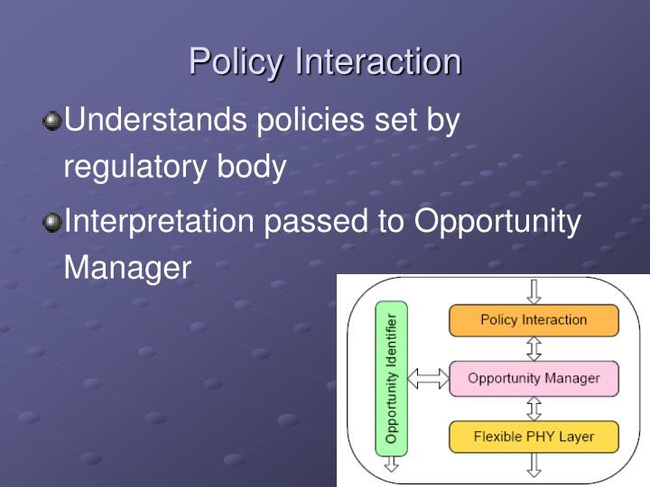 Policy Interaction