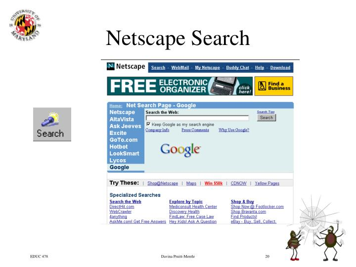 Netscape Search